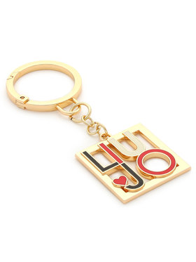 Liu Jo Liu Jo Schlüsselanhänger Key Ring Valentin AA1056 A0001 Goldfarben