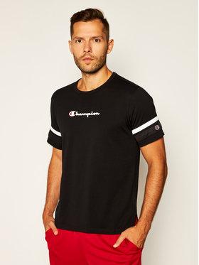 Champion Champion T-shirt Scripe Detail Script Logo 214267 Noir Comfort Fit