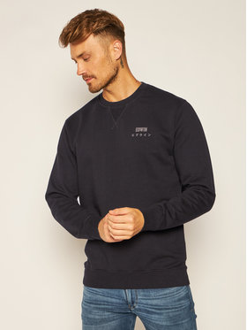 Edwin Edwin Sweatshirt Base Crew Sweat I025854 TG1271P 8967 Noir Regular Fit