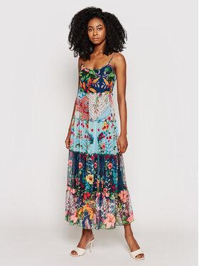 Desigual Desigual Sukienka letnia Marnac 21SWVK16 Kolorowy Regular Fit