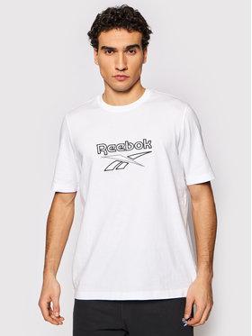 Reebok Reebok T-Shirt Classics Vector GU3875 Λευκό Oversize