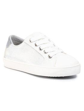 Geox Geox Sneakers aus Stoff J Gisli G. A J024NA 0NFBC C0007 M Weiß