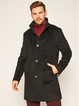 Oscar Jacobson Oscar Jacobson Prechodný kabát Storviker 7154 9049 Čierna Regular Fit