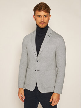 Tommy Hilfiger Tailored Tommy Hilfiger Tailored Σακάκι Flex Structure Blazer TT0TT07863 Γκρι Slim Fit