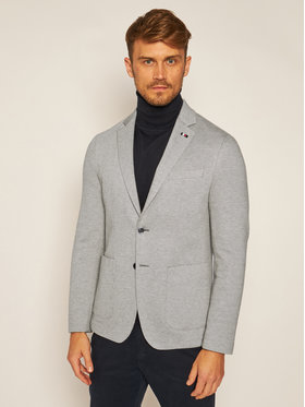 Tommy Hilfiger Tailored Tommy Hilfiger Tailored Сако Flex Structure Blazer TT0TT07863 Сив Slim Fit