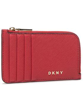 DKNY DKNY Pouzdro na kreditní karty Gifting Ew Zip Card R03Z1H42 Červená