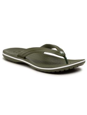 Crocs Crocs Japanke Crocband Flip 11033 Zelena
