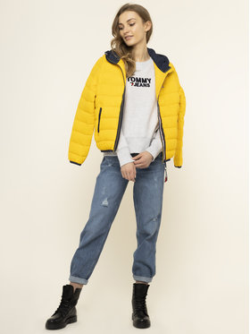 Tommy Jeans Tommy Jeans Džemperis Tjw Corp Heart DW0DW07804 Pilka Relaxed Fit