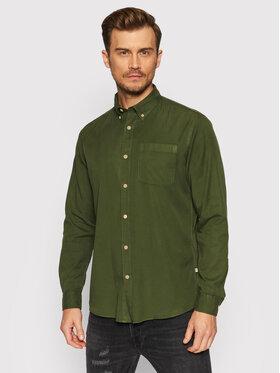 Selected Homme Selected Homme Košeľa Rick 16077348 Zelená Regular Fit