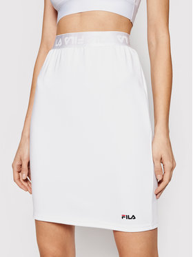 Fila Fila Gonna midi 68852 Chess Bianco Regular Fit