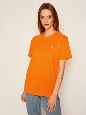 Fila Fila Marškinėliai Eara 687469 Oranžinė Regular Fit