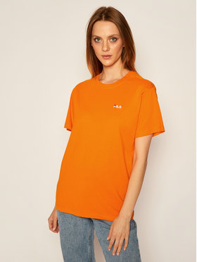 Fila Fila T-shirt Eara 687469 Arancione Regular Fit
