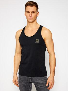 Versace Versace Tank top Medusa AUU01012 Čierna Regular Fit