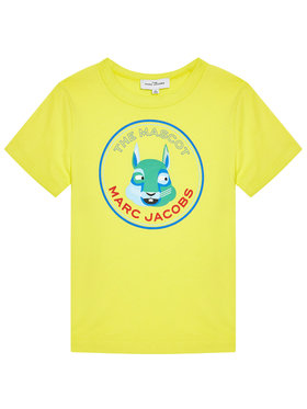 Little Marc Jacobs Little Marc Jacobs T-Shirt W25464 M Żółty Regular Fit