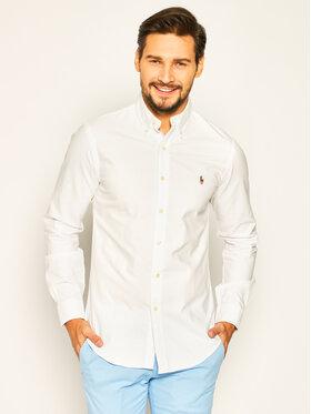 Polo Ralph Lauren Polo Ralph Lauren Риза Core Replen 710549084 Бял Slim Fit