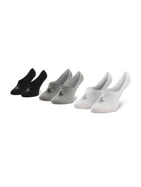 Polo Ralph Lauren Polo Ralph Lauren 3 pár/csomag unisex bokazokni 449799742001 r. OS Fekete