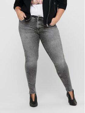 ONLY Carmakoma ONLY Carmakoma Jean Willy 15212252 Gris Skinny Fit