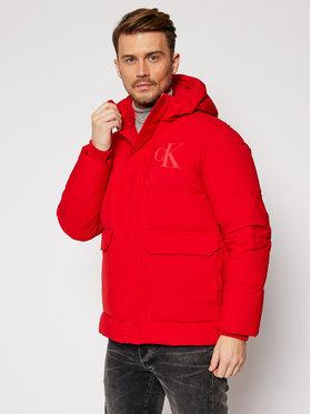 Calvin Klein Jeans Calvin Klein Jeans Vatovaná bunda J30J316622 Červená Regular Fit