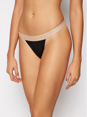 Dsquared2 Underwear Dsquared2 Underwear Stringové nohavičky D8L203170 Čierna