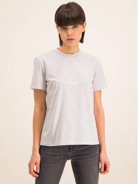 MSGM MSGM T-shirt 2841MDM100 207296 94 Gris Regular Fit