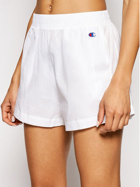 Champion Champion Short de sport 112992 Blanc Regular Fit