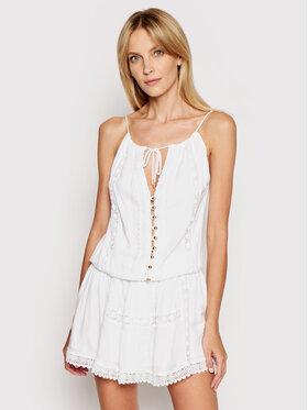 Melissa Odabash Melissa Odabash Sommerkleid Chelsea CR Weiß Regular Fit