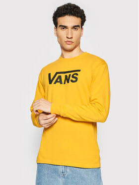 Vans Vans Majica dugih rukava Classic VN000K6HZ Žuta Classic Fit