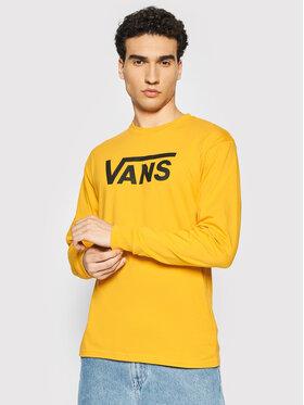Vans Vans Marškinėliai ilgomis rankovėmis Classic VN000K6HZ Geltona Classic Fit