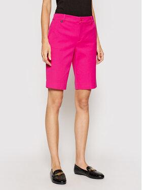 Lauren Ralph Lauren Lauren Ralph Lauren Pantalon scurți din material 200831247002 Roz Regular Fit