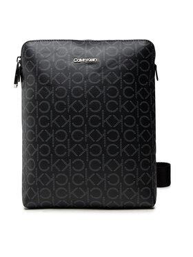 Calvin Klein Calvin Klein Мъжка чантичка Minimalism Flatpack Mono K50K5080990 Черен