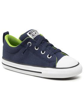 Converse Converse Sneakers aus Stoff Ctas Street Slip 770718C Dunkelblau