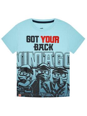 LEGO Wear LEGO Wear T-Shirt 12010097 Niebieski Regular Fit