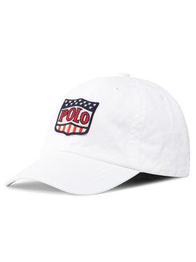 Polo Ralph Lauren Polo Ralph Lauren Καπέλο Jockey Basseball Cap 322793581001 Λευκό