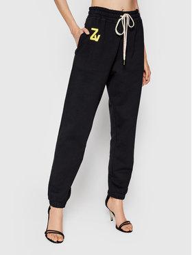 Zadig&Voltaire Zadig&Voltaire Teplákové kalhoty Steevy WKTS0102F Černá Regular Fit