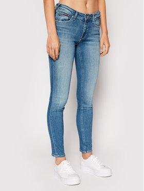 Tommy Jeans Tommy Jeans Traperice Sophie DW0DW10317 Plava Skinny Fit