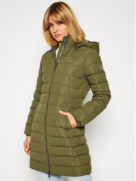 Tommy Jeans Tommy Jeans Kurtka puchowa Tjw Quilted DW0DW09061 Zielony Regular Fit