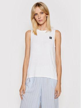 DKNY DKNY Тениска на пижама YI2222454 Бял