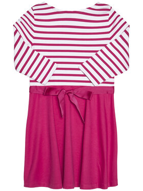 Polo Ralph Lauren Polo Ralph Lauren Hétköznapi ruha Stripe Solid 311720091001 Rózsaszín Regular Fit