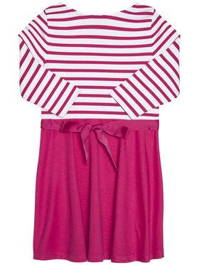 Polo Ralph Lauren Polo Ralph Lauren Sukienka codzienna Stripe Solid 311720091001 Różowy Regular Fit