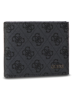 Guess Guess Μεγάλο Πορτοφόλι Ανδρικό Vezzola Slg SMVEZL LEA24 Γκρι