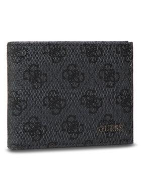 Guess Guess Veľká pánska peňaženka Vezzola Slg SMVEZL LEA24 Sivá