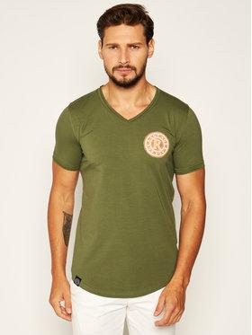 Rage Age Rage Age T-shirt Veyron 1 Verde Slim Fit