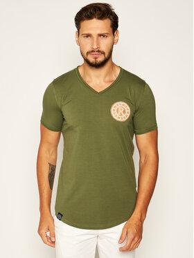 Rage Age Rage Age T-shirt Veyron 1 Vert Slim Fit