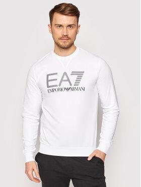 EA7 Emporio Armani EA7 Emporio Armani Mikina 3KPM60 PJ05Z 1100 Bílá Regular Fit