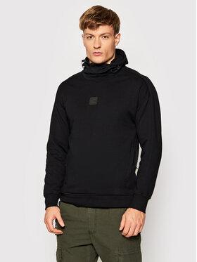 C.P. Company C.P. Company Sweatshirt Metropolis Series Diagonal Raised 11CMSS068A 005086W Schwarz Regular Fit