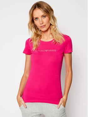 Emporio Armani Underwear Emporio Armani Underwear T-Shirt 163139 0A263 20973 Różowy Slim Fit
