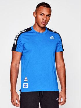 adidas adidas T-Shirt Space Tee M GP5804 Σκούρο μπλε Regular Fit