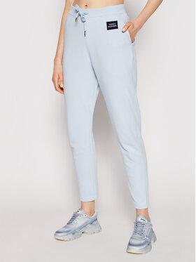 Tommy Hilfiger Tommy Hilfiger Teplákové kalhoty Box Sweatpant WW0WW30258 Modrá Regular Fit