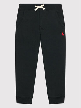 Polo Ralph Lauren Polo Ralph Lauren Teplákové kalhoty 323720897002 Černá Regular Fit