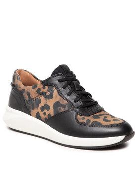 Clarks Clarks Sneakersy Un Rio Sprint 261632354 Czarny